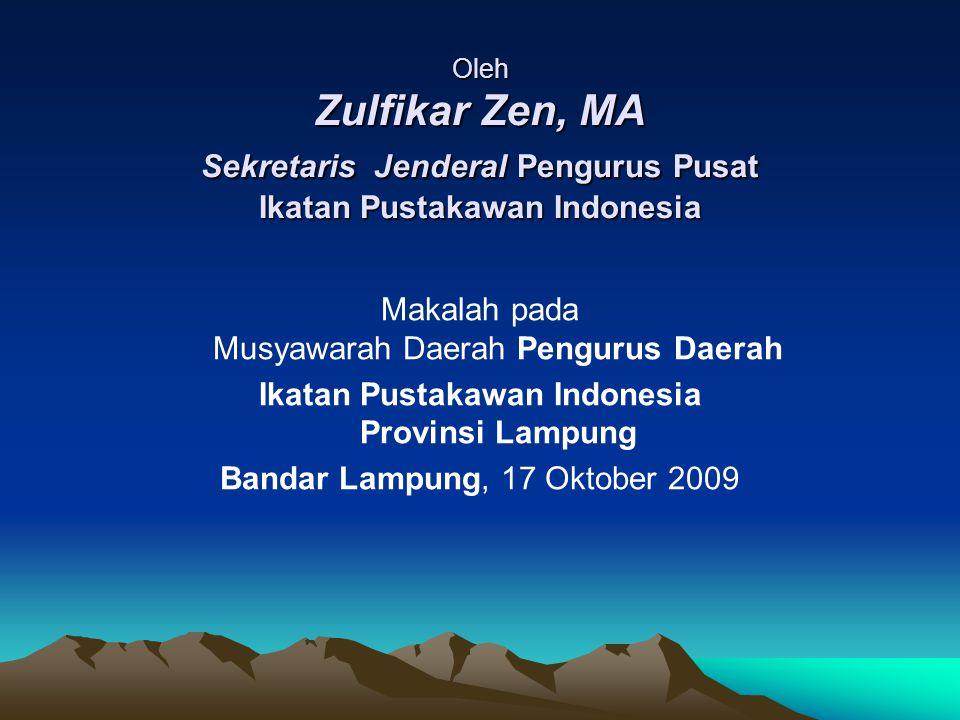 Ikatan Pustakawan Indonesia Provinsi Lampung