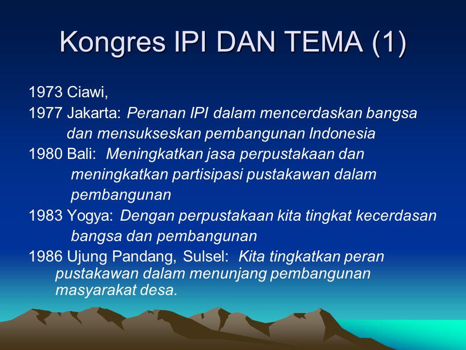 Kongres IPI DAN TEMA (1) 1973 Ciawi,