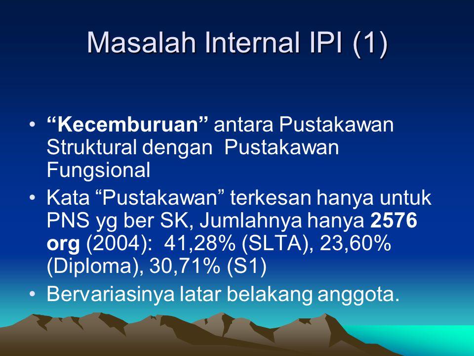 Masalah Internal IPI (1)