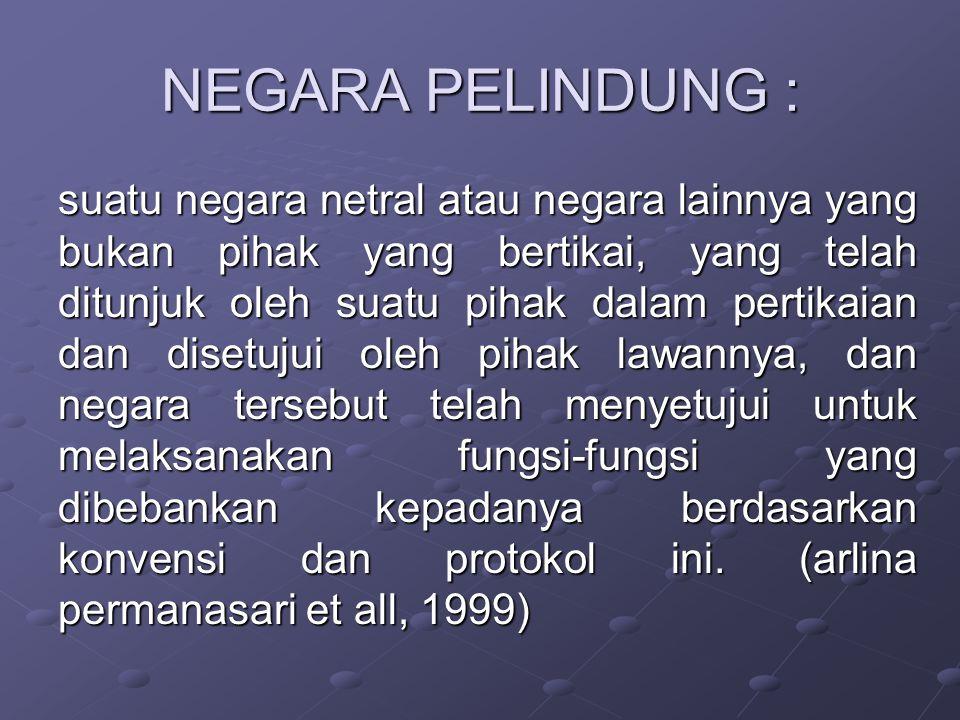 NEGARA PELINDUNG :