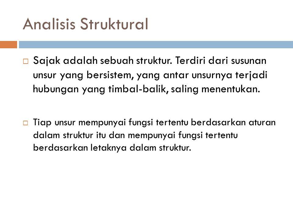 Analisis Struktural