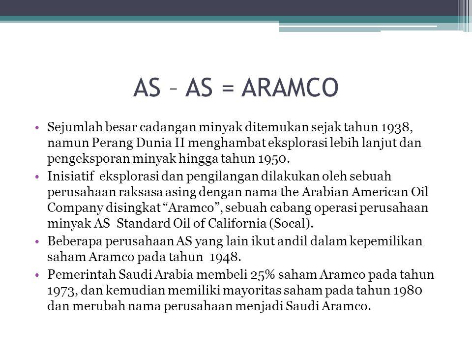 AS – AS = ARAMCO