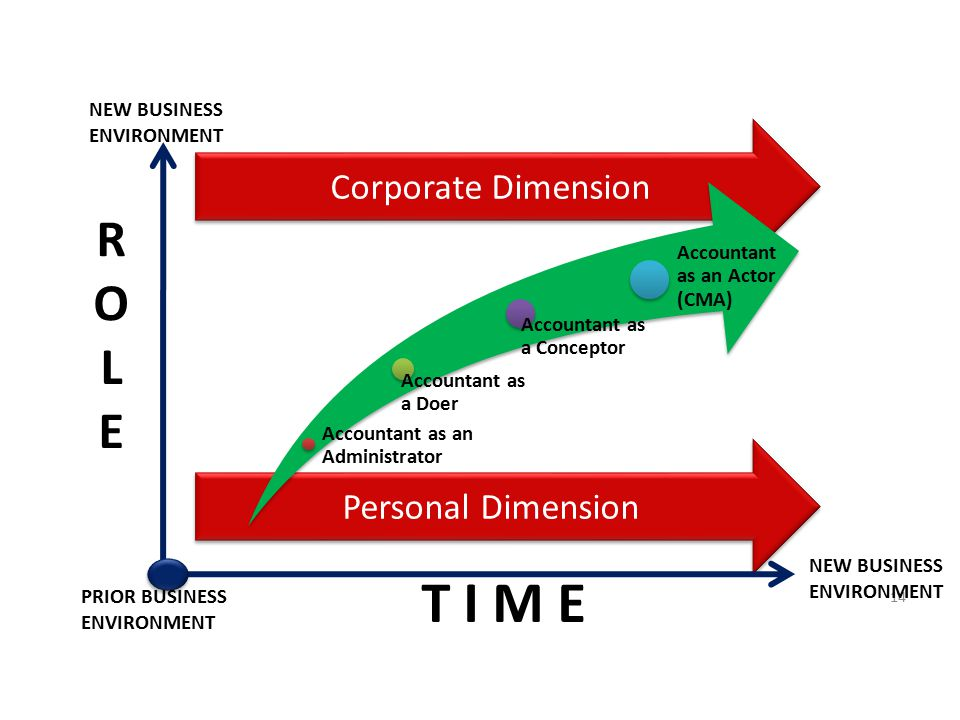 T I M E R O L E Corporate Dimension Personal Dimension