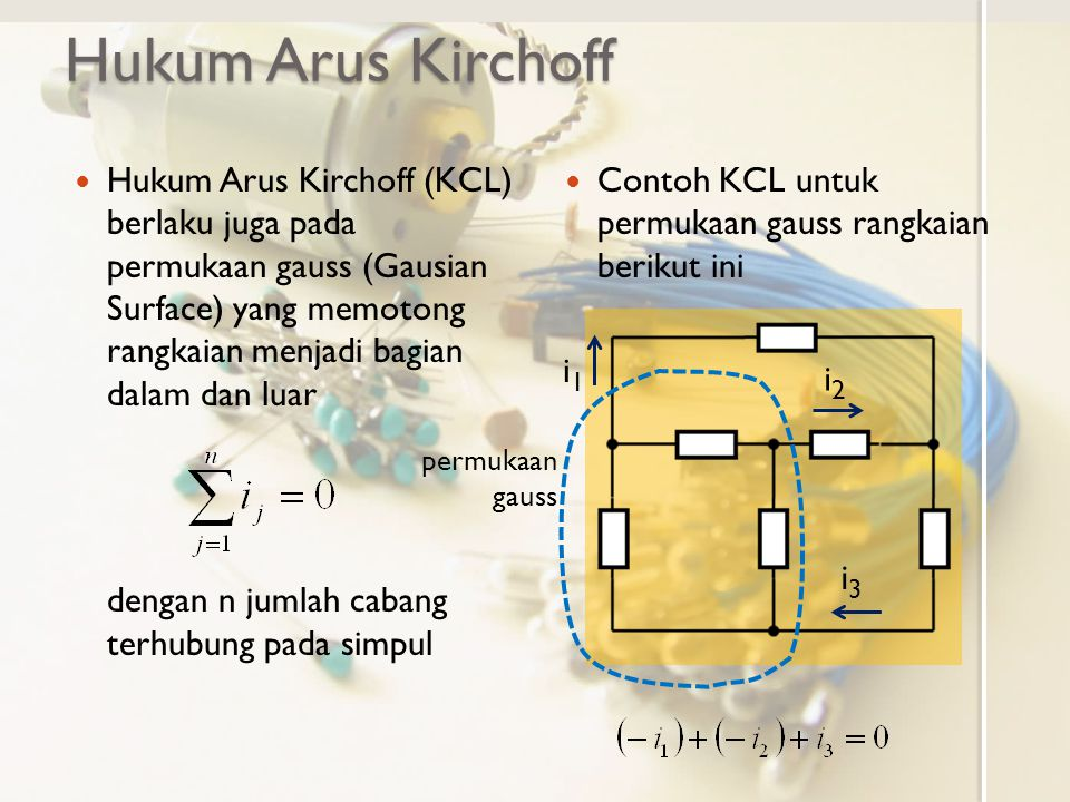 Hukum Arus Kirchoff