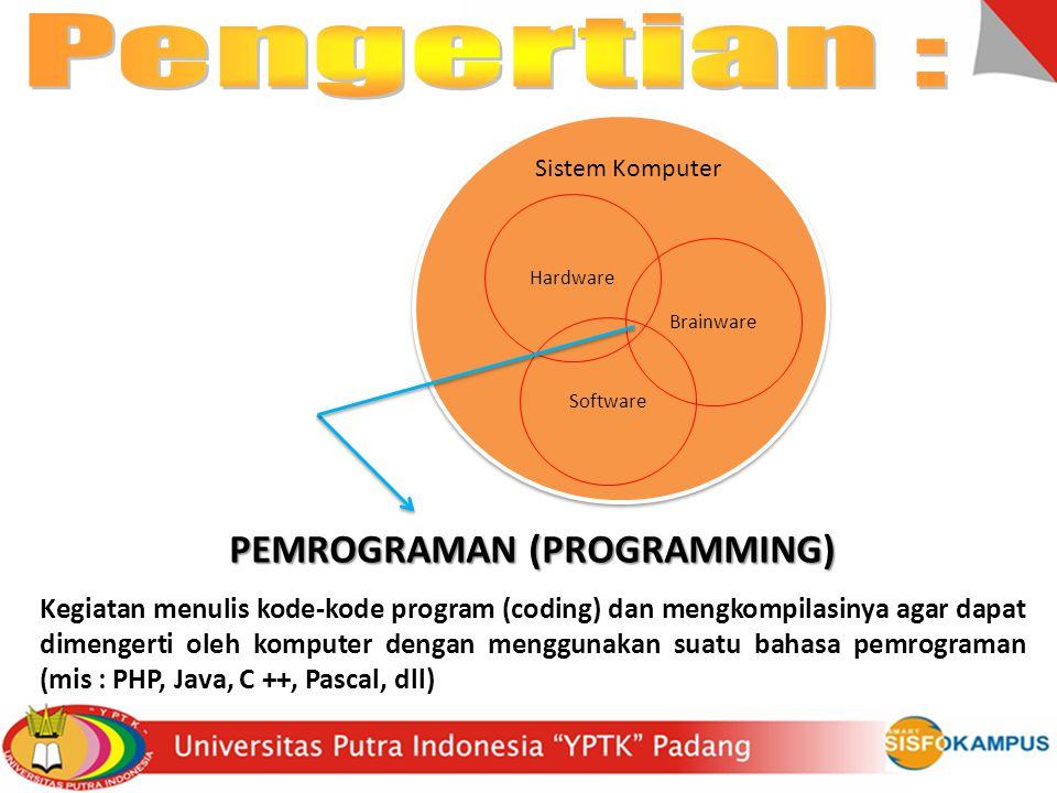 PEMROGRAMAN (PROGRAMMING)