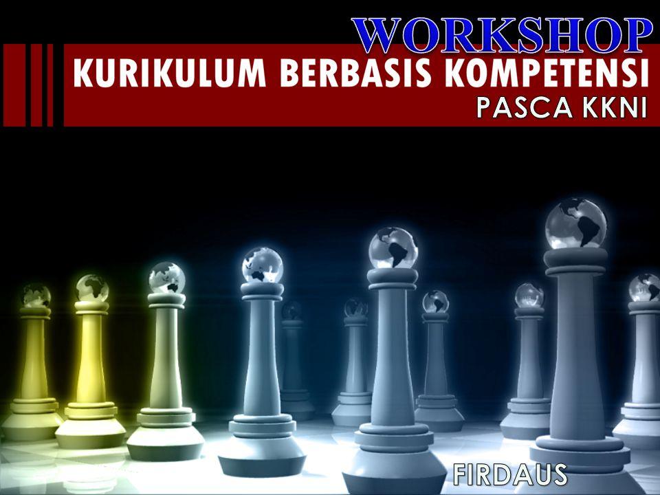 WORKSHOP PASCA KKNI FIRDAUS