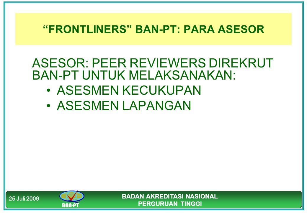 FRONTLINERS BAN-PT: PARA ASESOR