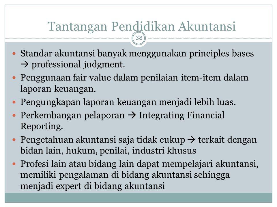 Tantangan Pendidikan Akuntansi