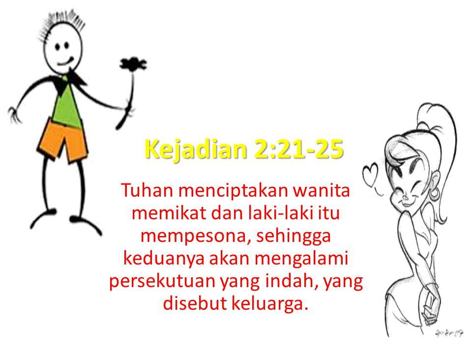 Kejadian 2:21-25