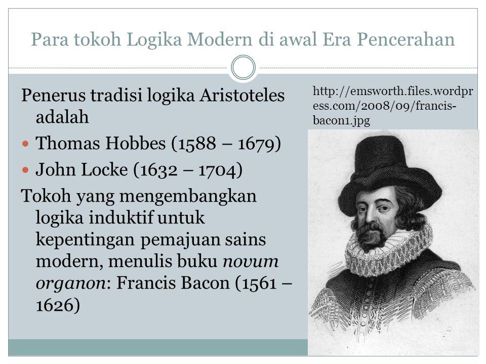 Para tokoh Logika Modern di awal Era Pencerahan