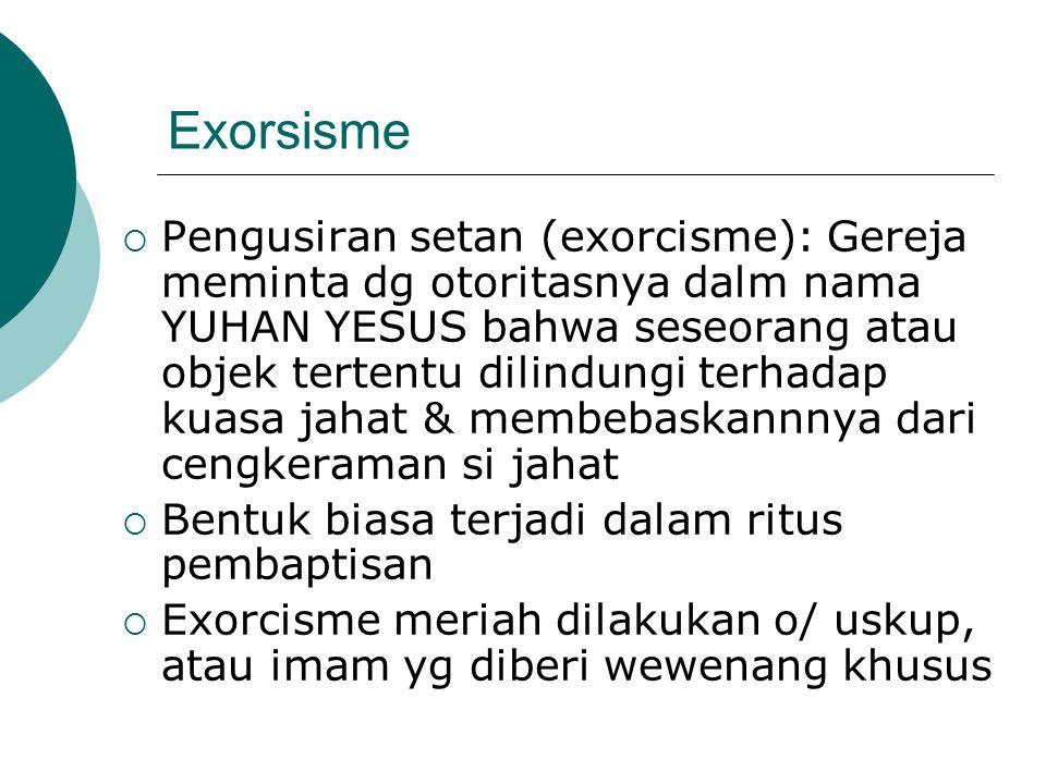 Exorsisme