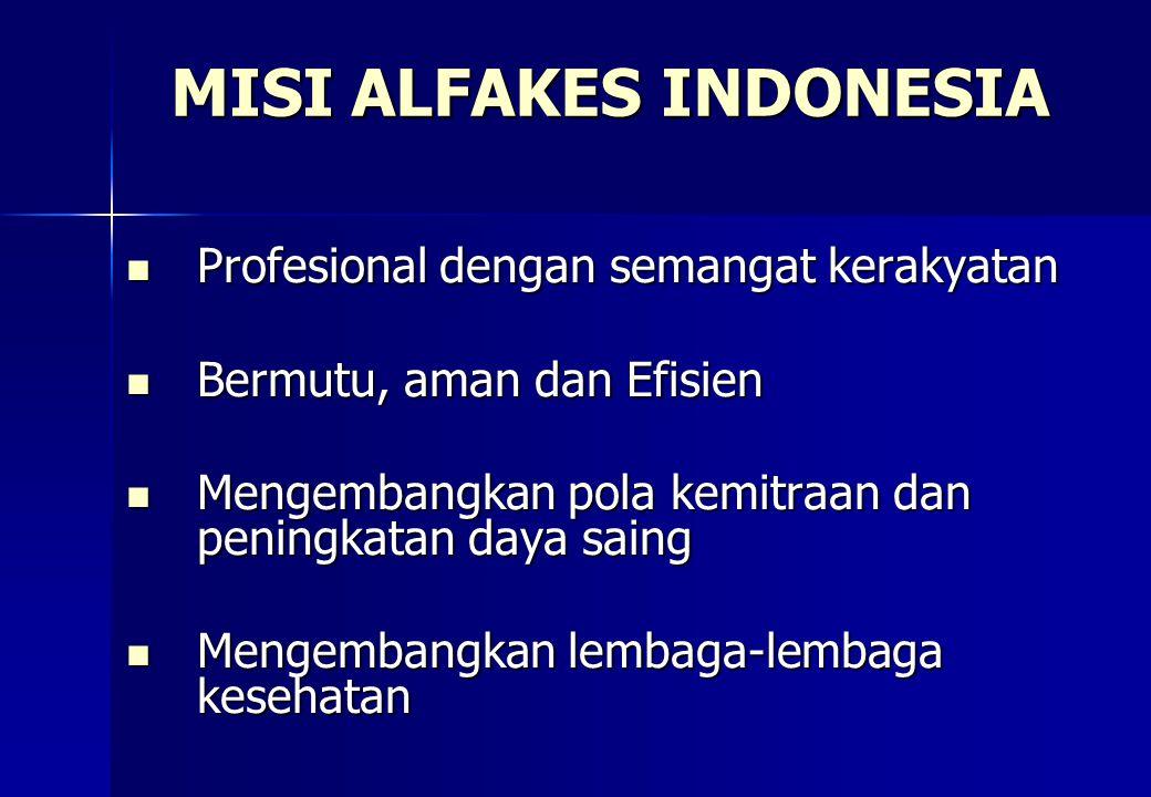 MISI ALFAKES INDONESIA