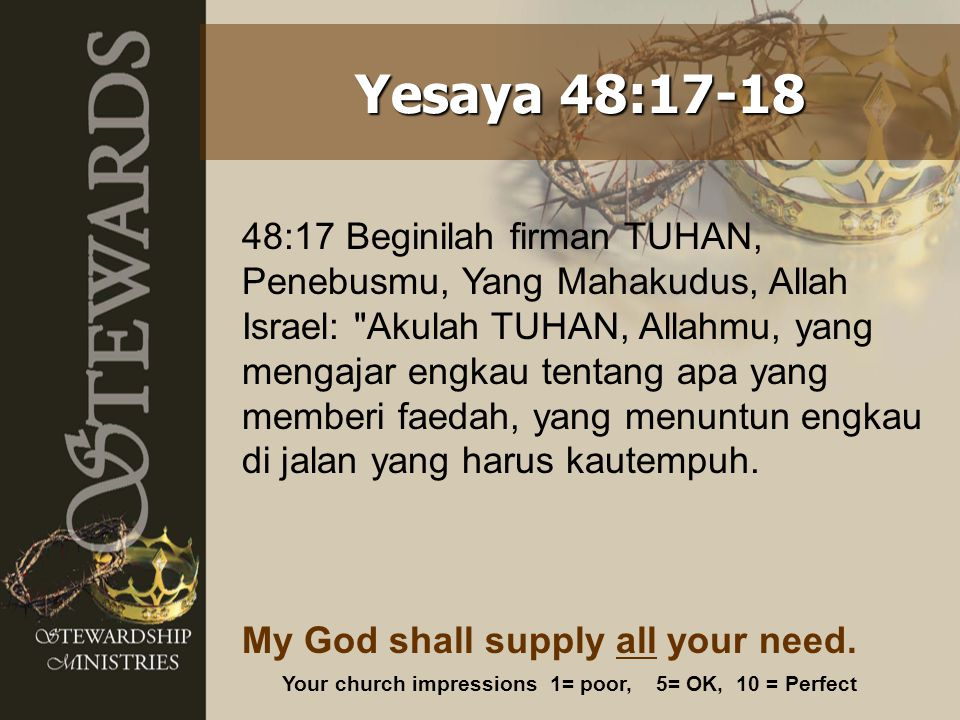 Yesaya 48:17-18