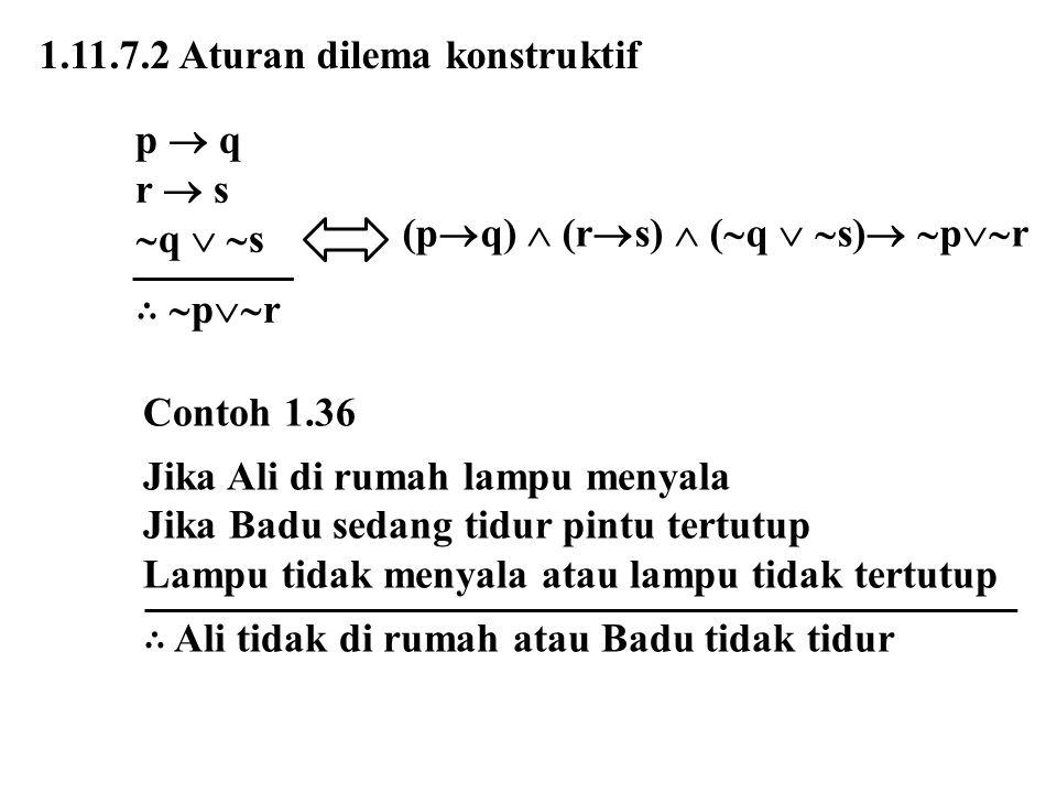 1.11.7.2 Aturan dilema konstruktif