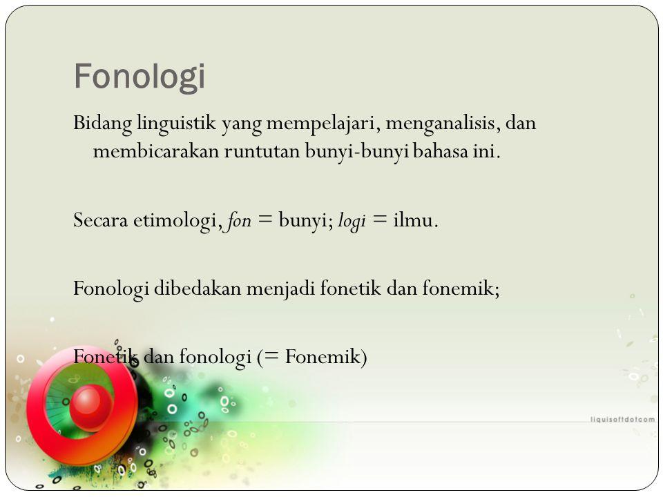 Fonologi