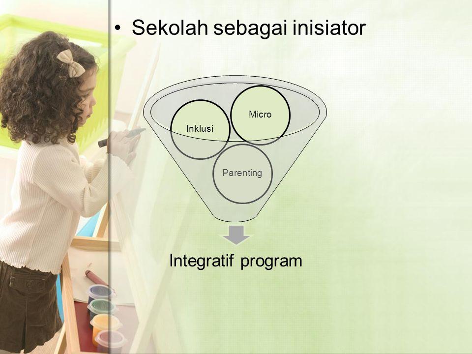 Sekolah sebagai inisiator