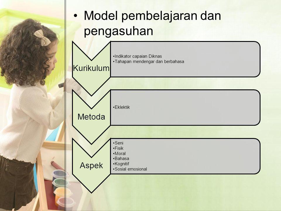 Model pembelajaran dan pengasuhan