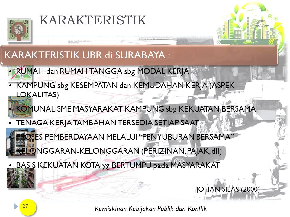 KARAKTERISTIK KARAKTERISTIK UBR di SURABAYA :