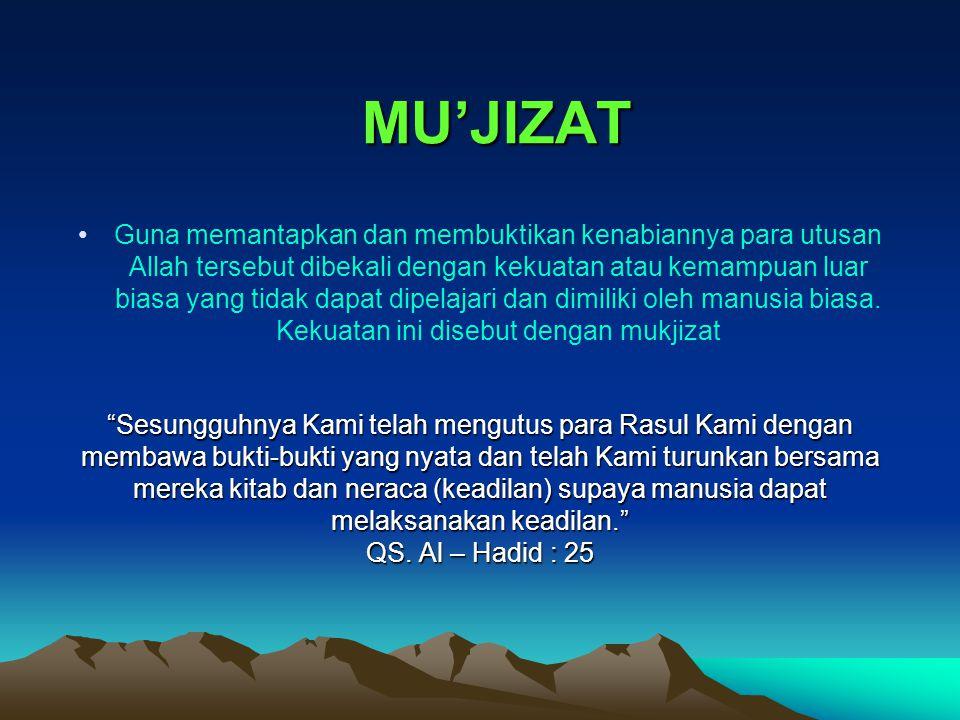 MU'JIZAT