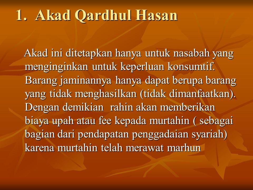 1. Akad Qardhul Hasan