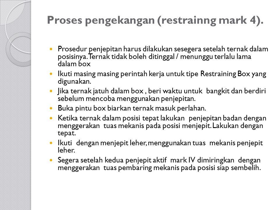 Proses pengekangan (restrainng mark 4).