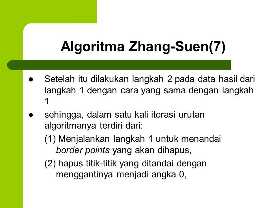 Algoritma Zhang-Suen(7)
