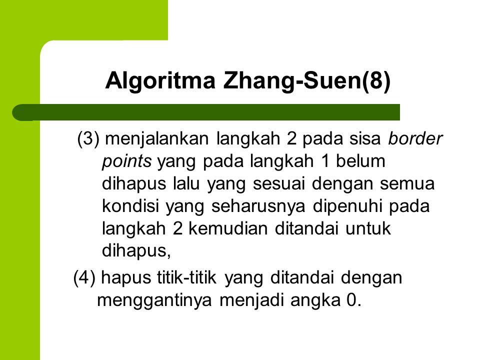 Algoritma Zhang-Suen(8)
