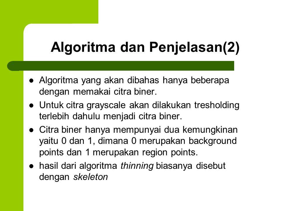 Algoritma dan Penjelasan(2)