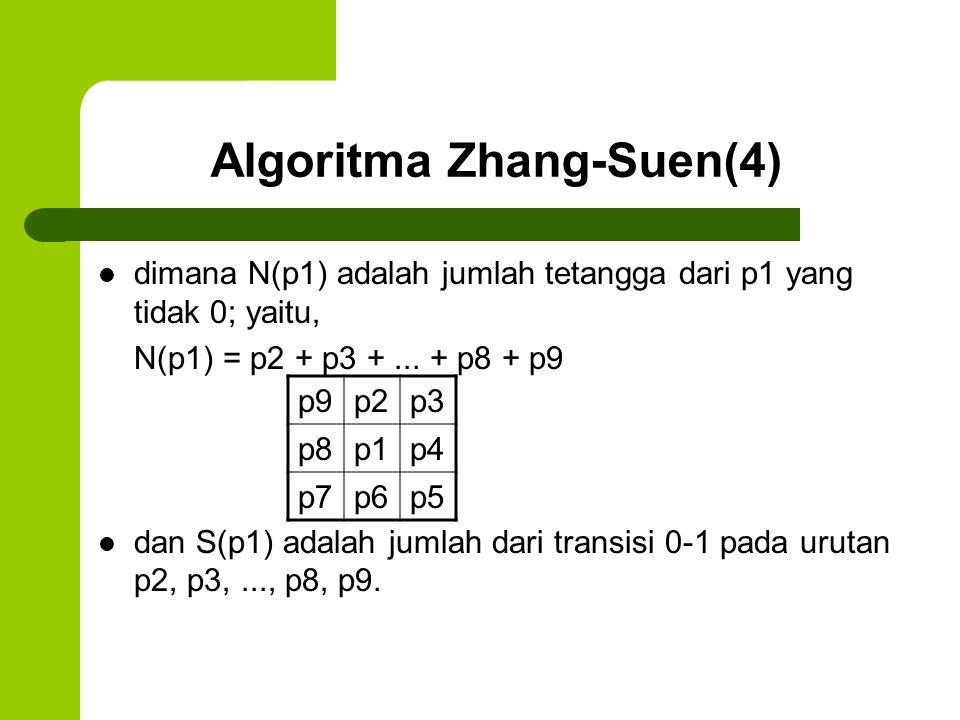 Algoritma Zhang-Suen(4)