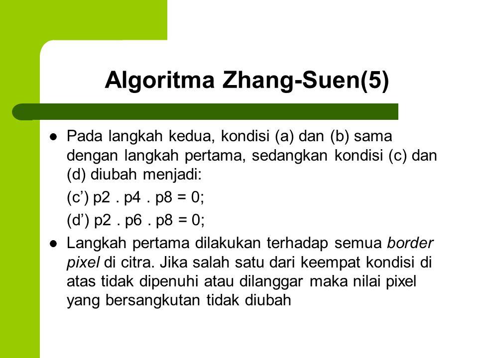 Algoritma Zhang-Suen(5)