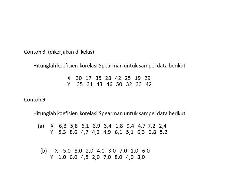 Contoh 8 (dikerjakan di kelas)
