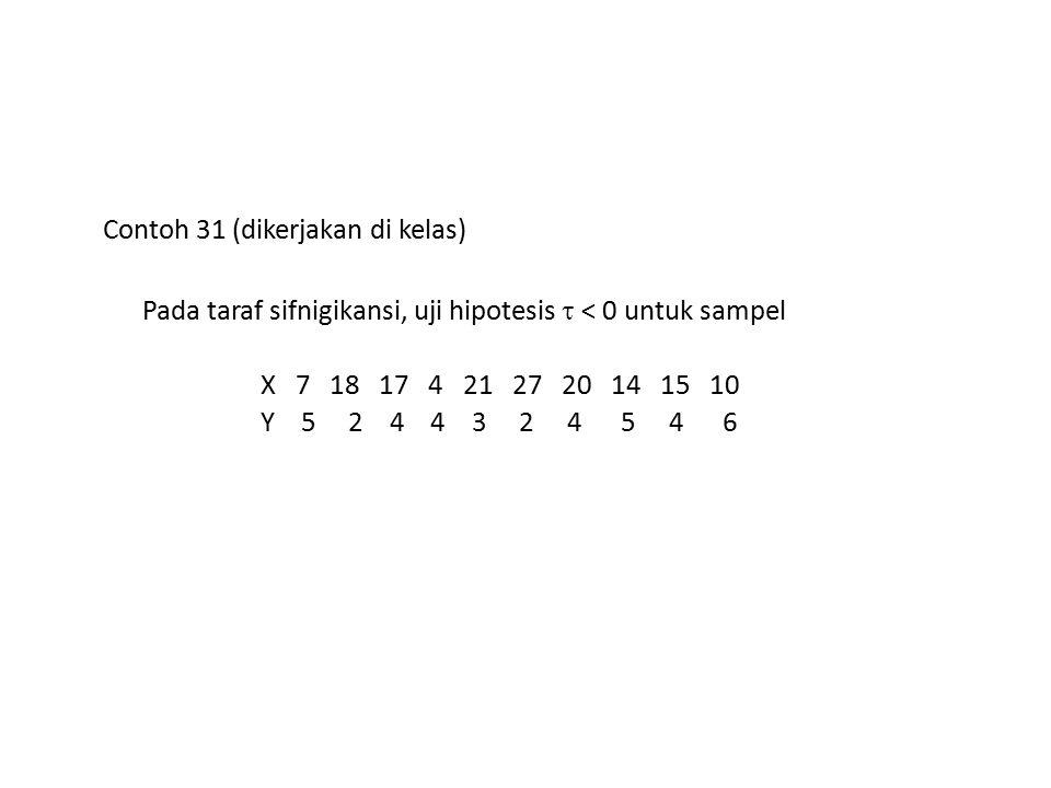 Contoh 31 (dikerjakan di kelas)