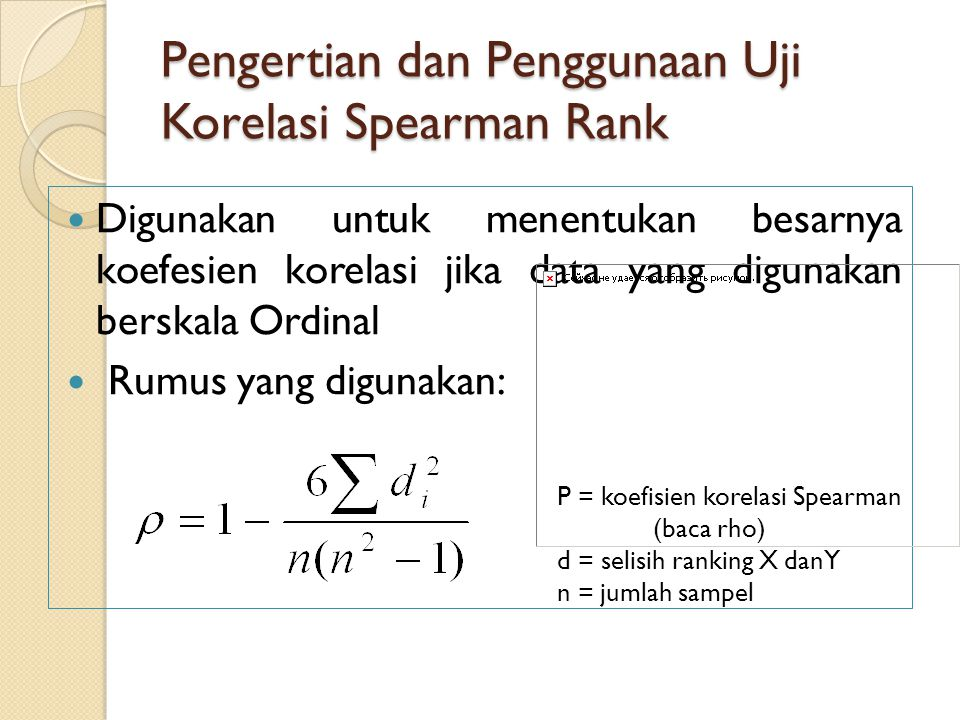 Pengertian dan Penggunaan Uji Korelasi Spearman Rank