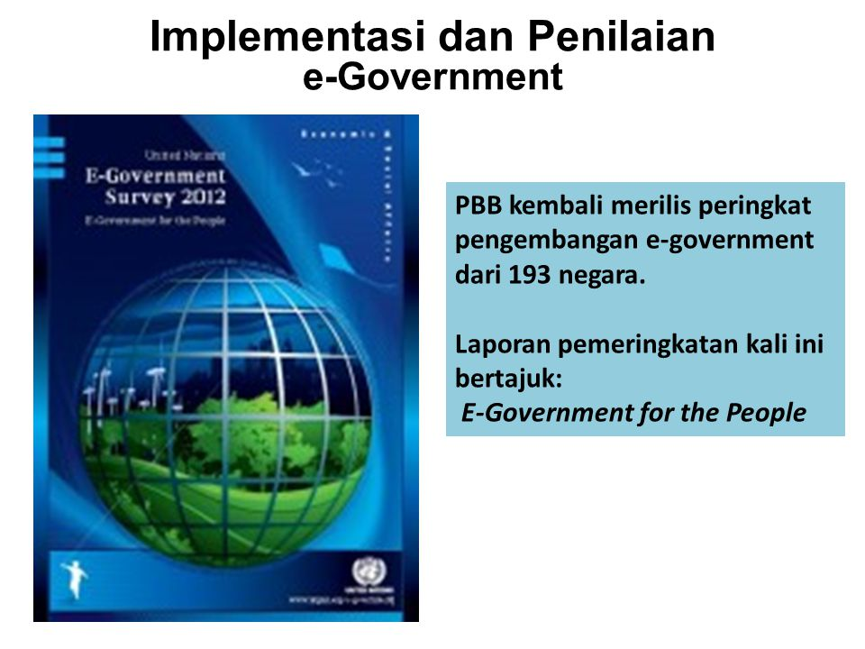 Implementasi dan Penilaian e-Government
