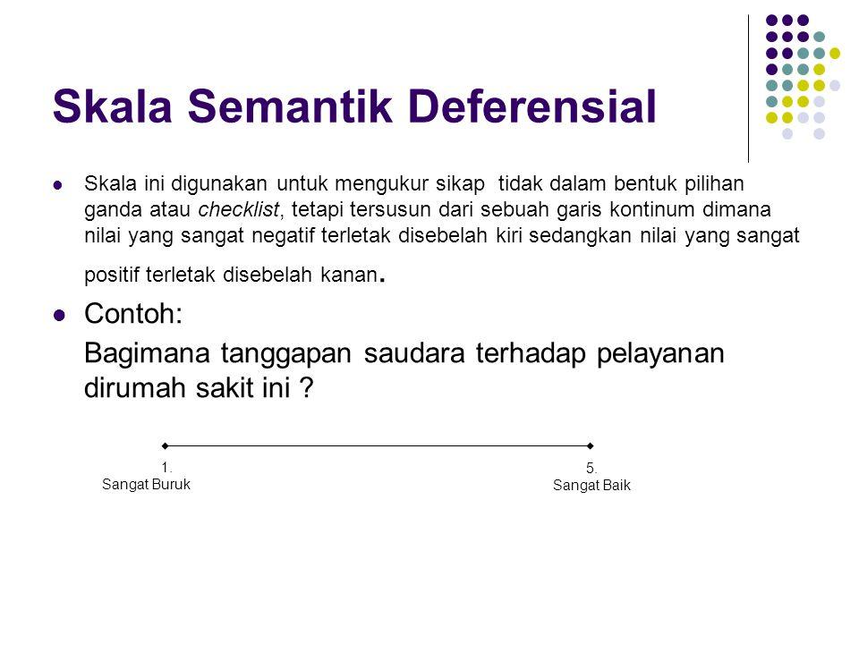 Skala Semantik Deferensial
