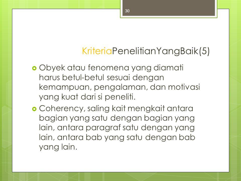 KriteriaPenelitianYangBaik(5)