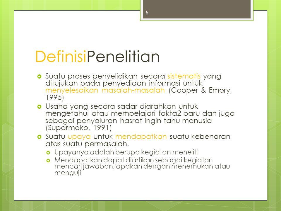 DefinisiPenelitian