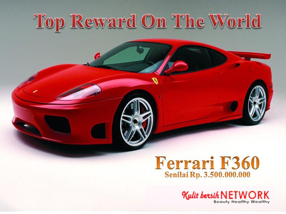 Top Reward On The World Ferrari F360