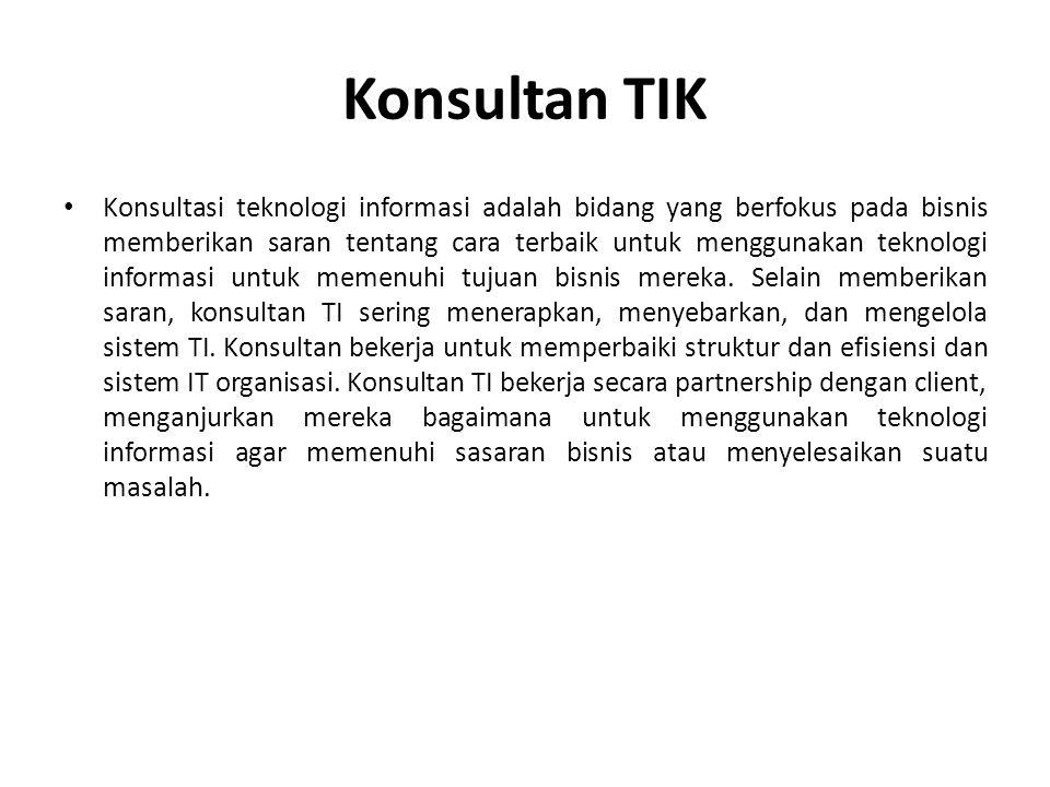Konsultan TIK