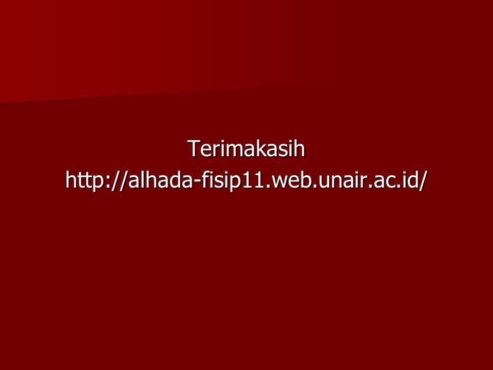 Terimakasih http://alhada-fisip11.web.unair.ac.id/