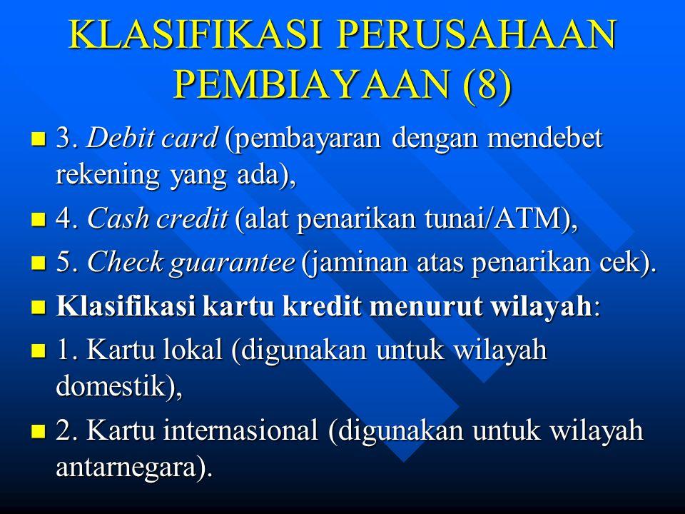 KLASIFIKASI PERUSAHAAN PEMBIAYAAN (8)