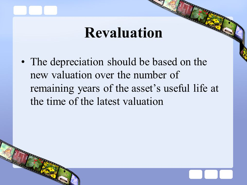 Revaluation
