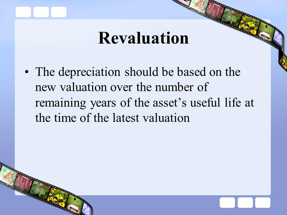 Revaluation