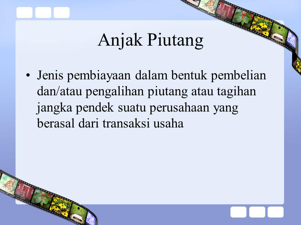 Anjak Piutang