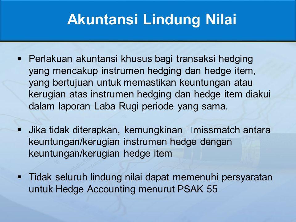 Akuntansi Lindung Nilai