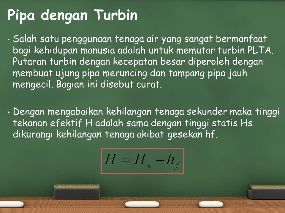 Pipa dengan Turbin