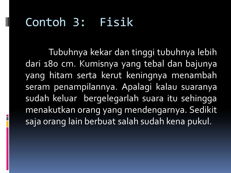 Contoh 3: Fisik