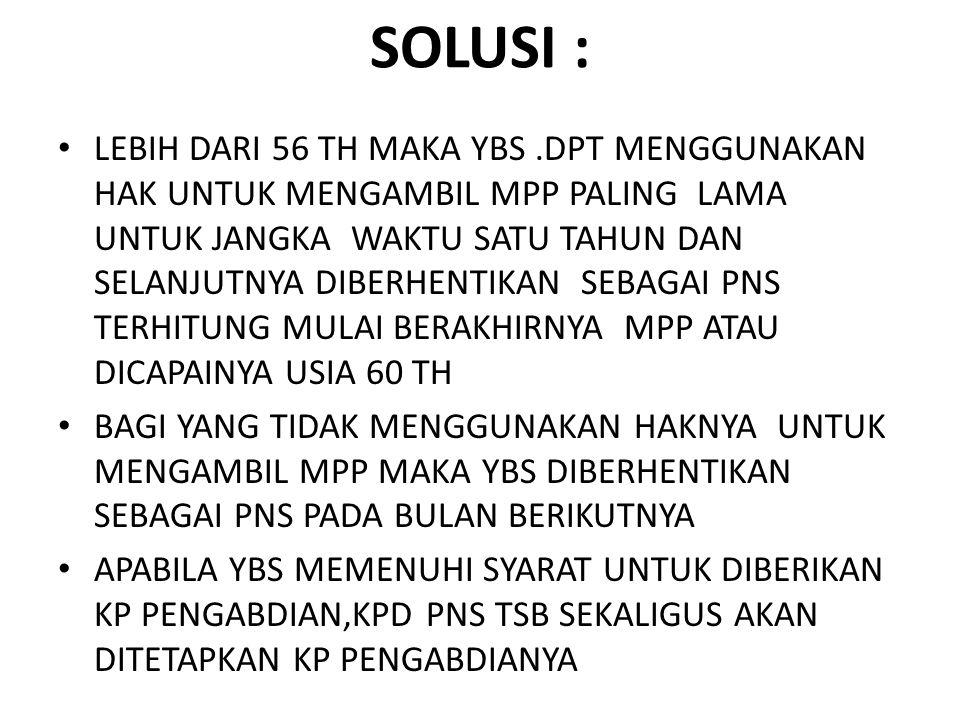 SOLUSI :
