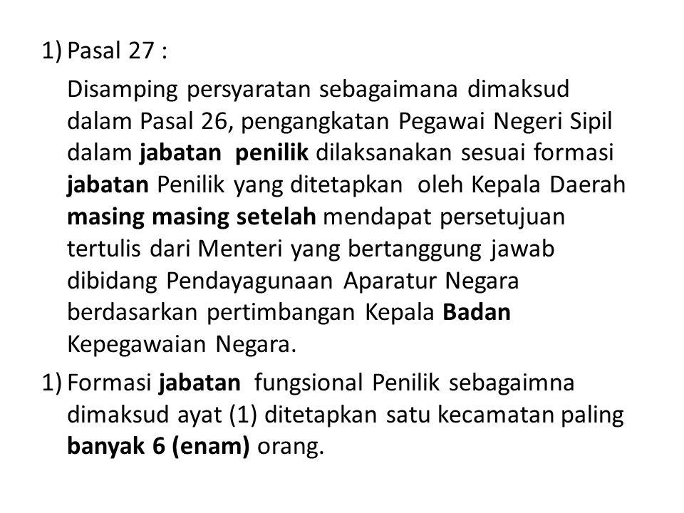 Pasal 27 :
