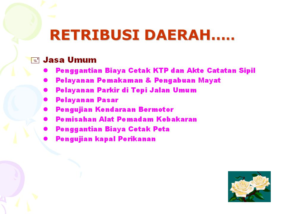 RETRIBUSI DAERAH…..